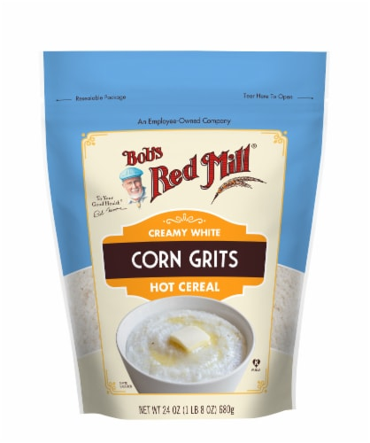 Bob's Red Mill White Corn Grits Perspective: front