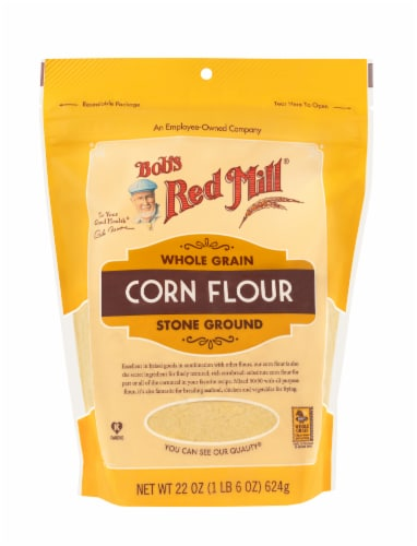 Bob's Red Mill Corn Flour Perspective: front