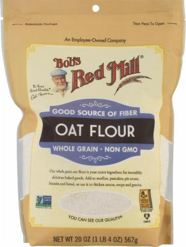 Bob's Red Mill Oat Flour Perspective: front