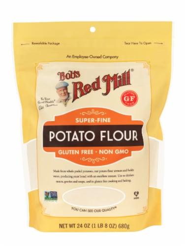 Bob's Red Mill Super-Fine Potato Flour Perspective: front