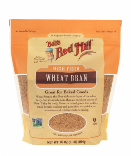 Bob's Red Mill® High Fiber Wheat Bran Perspective: front