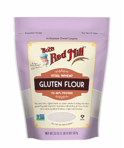 Bob's Red Mill Vital Wheat Gluten Flour Perspective: front