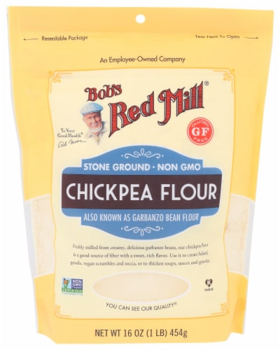 Bob's Red Mill Chickpea Flour Perspective: front