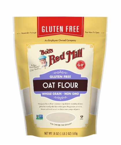 Bob's Red Mill Gluten Free Oat Flour Perspective: front