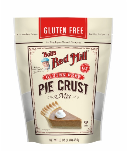 Bob's Red Mill Gluten Free Pie Crust Mix Perspective: front