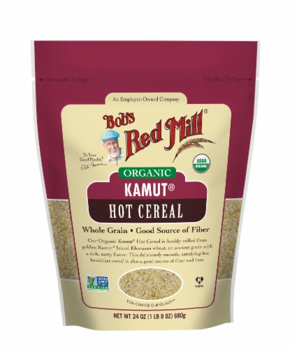 Bob's Red Mill Organic Kamut Hot Cereal Perspective: front