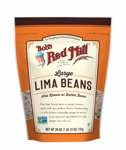 Bob's Red Mill Large Lima Beans Perspective: front