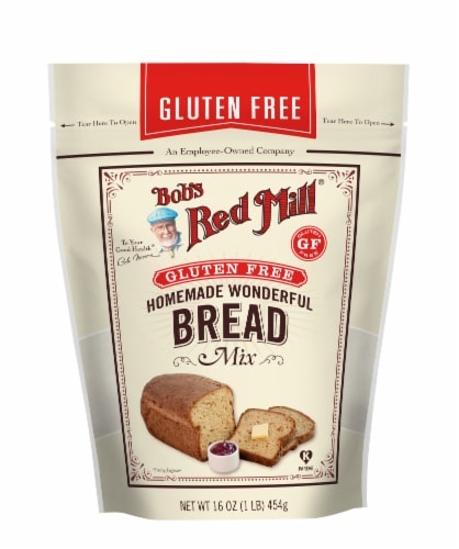 Bob's Red Mill Gluten Free Homemade Wonderful Bread Mix Perspective: front