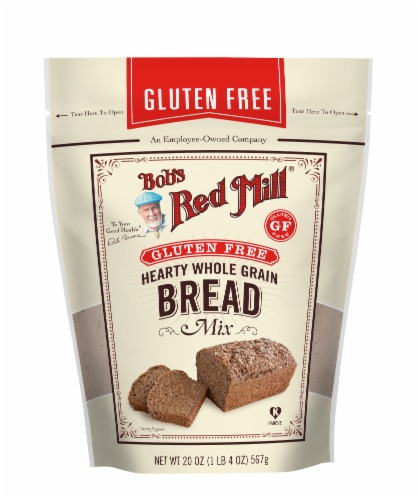Bob's Red Mill Gluten Free Hearty Whole Grain Bread Mix Perspective: front