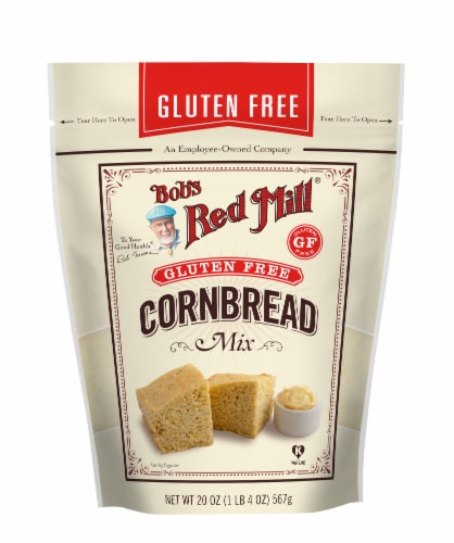 Bob's Red Mill Gluten Free Cornbread Mix Perspective: front