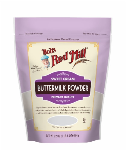Bob's Red Mill Sweet Cream Buttermilk Powder Perspective: front