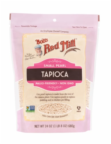 Bob's Red Mill Small Pearl Tapioca Perspective: front