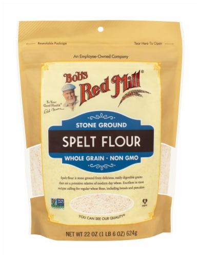 Bob's Red Mill Stone Ground Spelt Flour Perspective: front