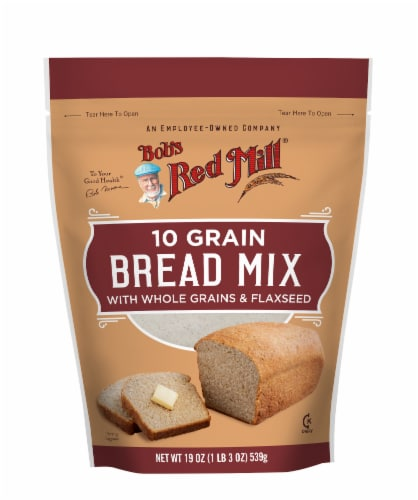 Bob's Red Mill 10 Grain Bread Mix Perspective: front