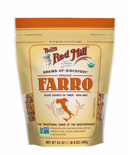 Bob's Red Mill Organic Farro Perspective: front