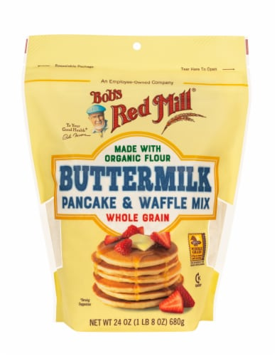 Bob's Red Mill Buttermilk Pancake & Waffle Mix Perspective: front