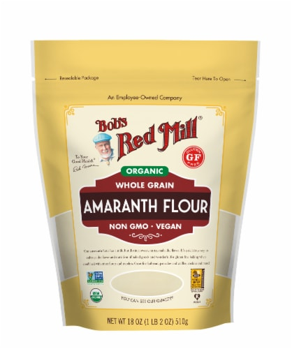 Bob's Red Mill Organic Amaranth Flour Perspective: front
