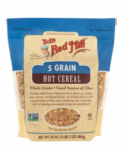 Bob's Red Mill 5 Grain Hot Cereal Perspective: front