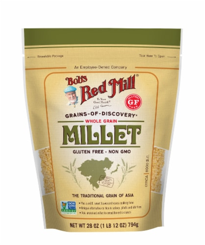 Bob's Red Mill Whole Grain Millet Perspective: front