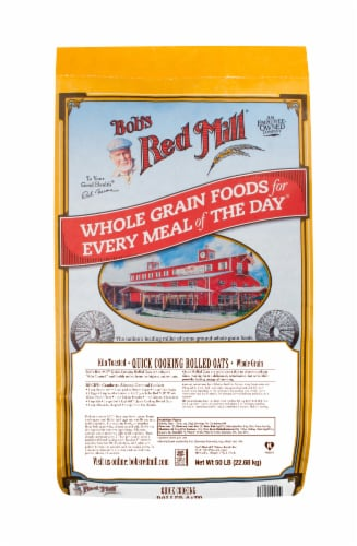 Bob's Red Mill Quick Cooking Rolled Oats Perspective: front