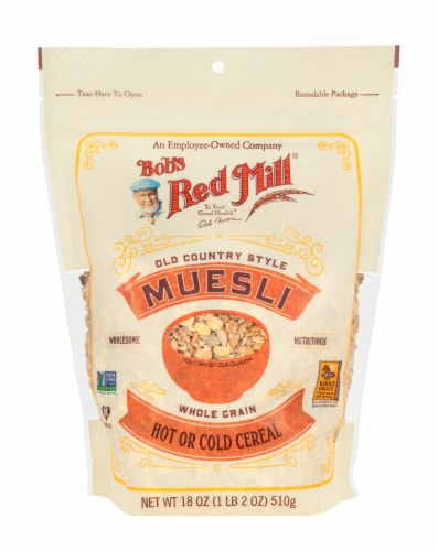Bob's Red Mill Old Country Style Muesli Perspective: front