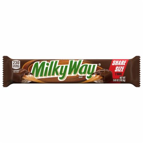 Milky Way® Milk Chocolate Bars Perspective: front