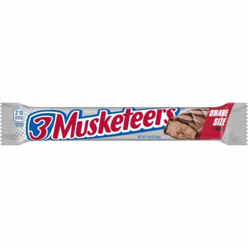3 Musketeers King Size Perspective: front