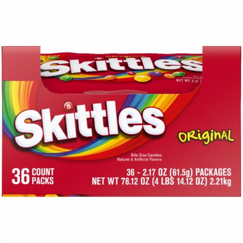 Skittles Original Fruity Candy Perspective: front