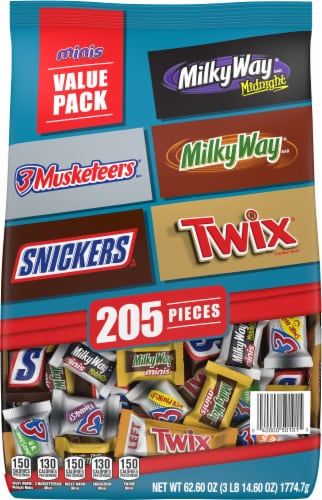 Mars Chocolate Favorites Mini Candy Bars Perspective: front