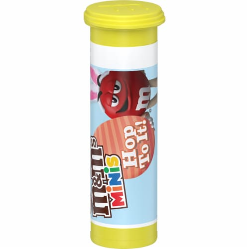 M&M'S MINIS Milk Chocolate Easter Candy Tube Perspective: front