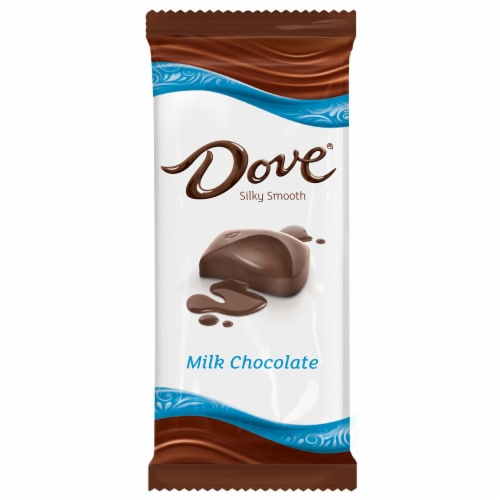 Dove Milk Chocolate Bar Perspective: front