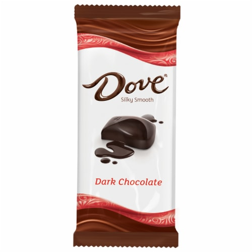 Dove Dark Chocolate Bar Perspective: front