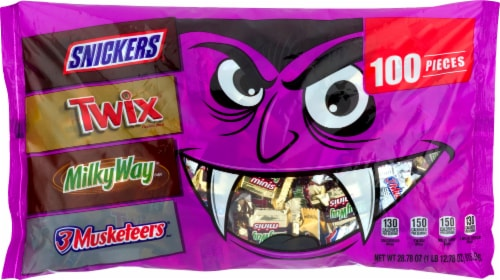 Mars Halloween Chocolate Candy Variety Bag Perspective: front