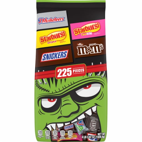 Mars Mixed Chocolate and Chewy Halloween Candy Variety Bag Perspective: front