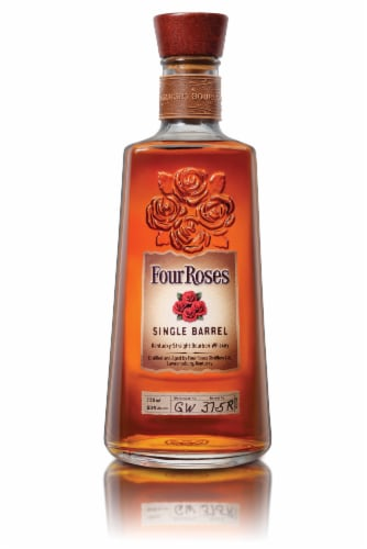 Four Roses Single Barrel Kentucky Straight Bourbon Whiskey Perspective: front