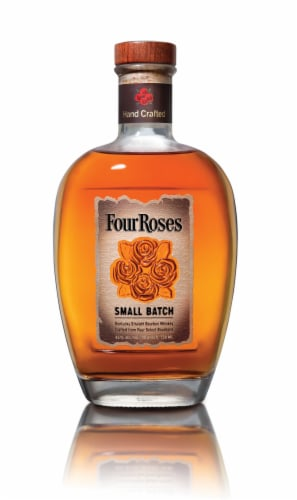 Four Roses Small Batch Kentucky Straight Bourbon Whiskey Perspective: front
