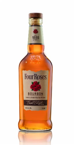 Four Roses Kentucky Straight Bourbon Whiskey Perspective: front