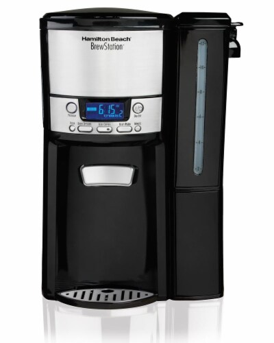 Hamilton Beach Brewstation 12-Cup Dispensing Coffee Maker Perspective: front