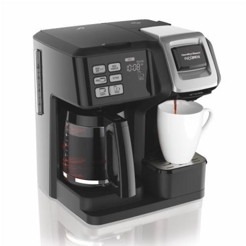 Hamilton Beach FlexBrew® Single Serve 2-Way Coffee Maker - Black Perspective: front