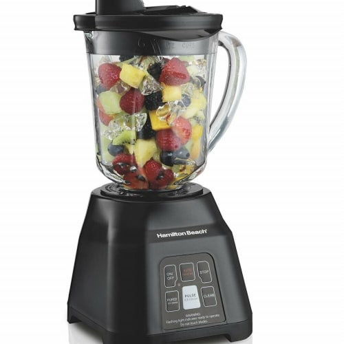 Hamilton Beach 56207 40 oz Smoothie Smart Jar Blender - Black Perspective: front