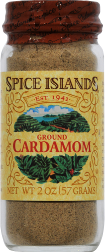 Spice Islands Ground Cardamom Perspective: front