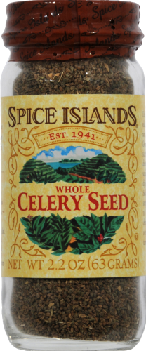 Spice Islands Whole Celery Seed Perspective: front