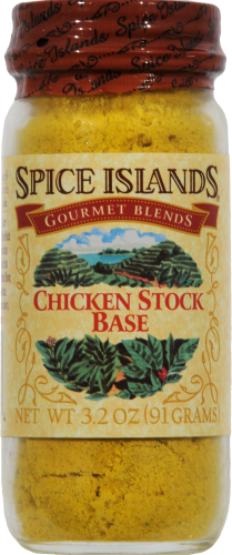 Spice Islands Chicken Stock Base Jar Perspective: front