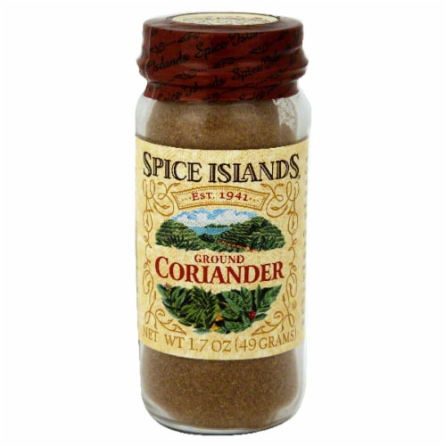 Spice Islands Ground Coriander Seed Jar Perspective: front
