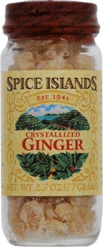 Spice Islands Crystallized Ginger Jar Perspective: front