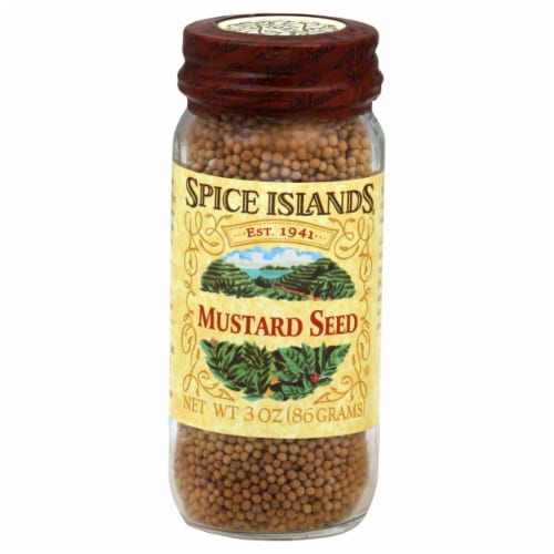 Spice Islands Whole Mustard Seed Perspective: front