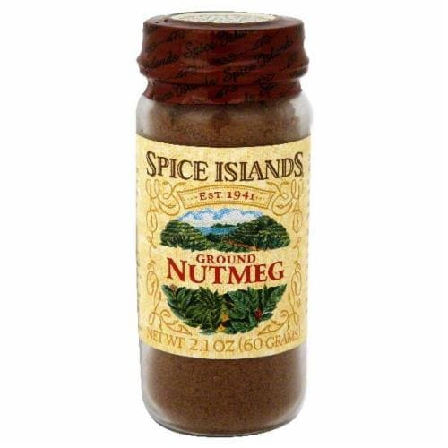 Spice Islands Ground Nutmeg Jar Perspective: front