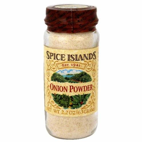 Spice Islands Onion Powder Perspective: front