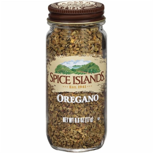Spice Islands Oregano Perspective: front
