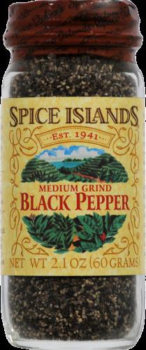 Spice Islands Medium Ground Black Pepper Perspective: front